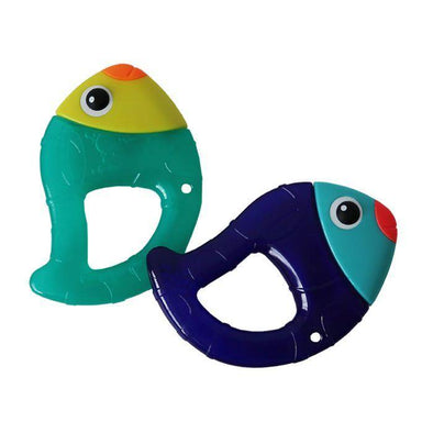 Chill N' Chirp Water Filled Teether 2 pack
