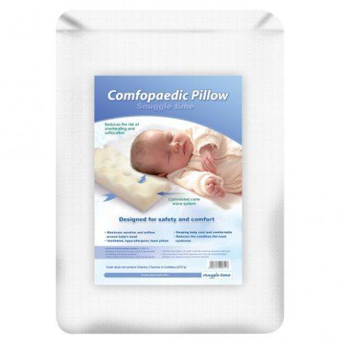 Nanotect Easy Breather Comfopaedic Pillow & Pillow Case
