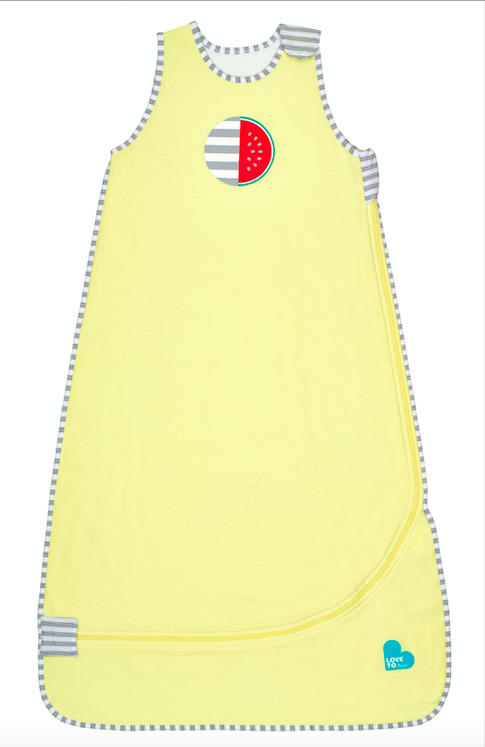 Nuzzlin™ 1.0 TOG Sleep Bag – Lemon