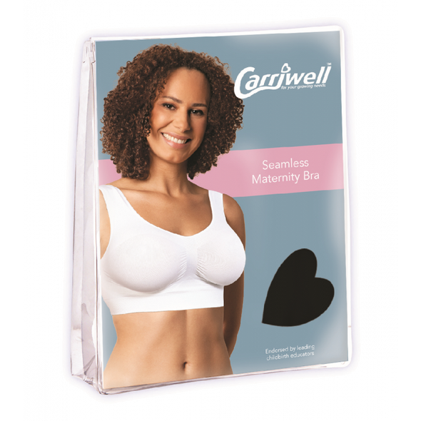 Carriwell Seamless Maternity Bra Black