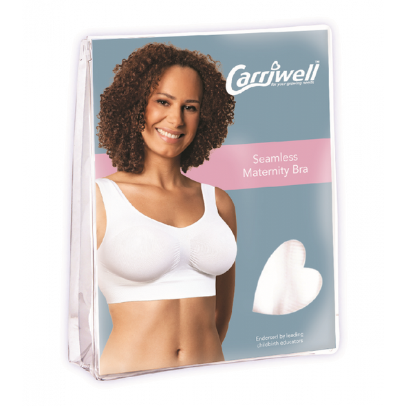 Carriwell Seamless Maternity Bra White