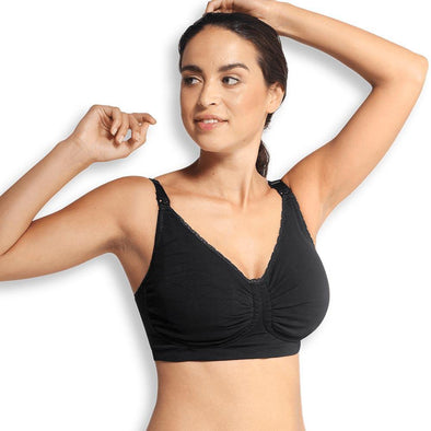 Carriwell Seamless Padded Carri-Gel Support Black - Lulla-Buy