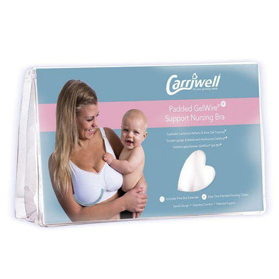Carriwell Seamless Padded GelWire White - Lulla-Buy