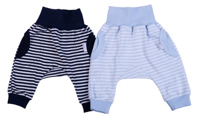 Striped Baby Slouch Pants - Lulla-Buy