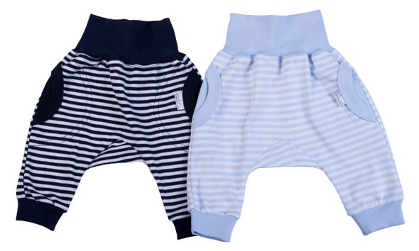Striped Baby Slouch Pants