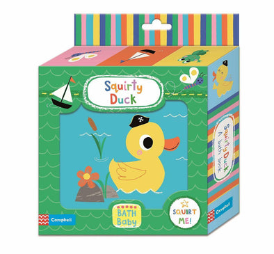 Squirty Duck Bath Book by Campbell