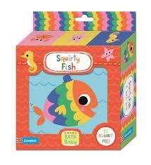 Squirty Fish Bath Book by Campbell