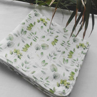 Swaddle Blanket - Waterleaf