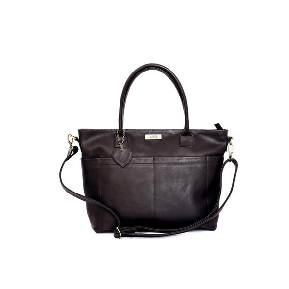 The Beula Baby Bag in Black