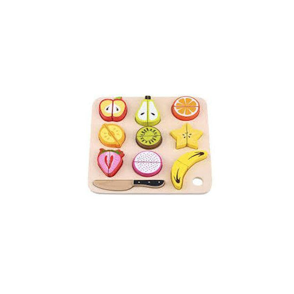 Wooden Play Cutting - Fruit - Lulla-Buy