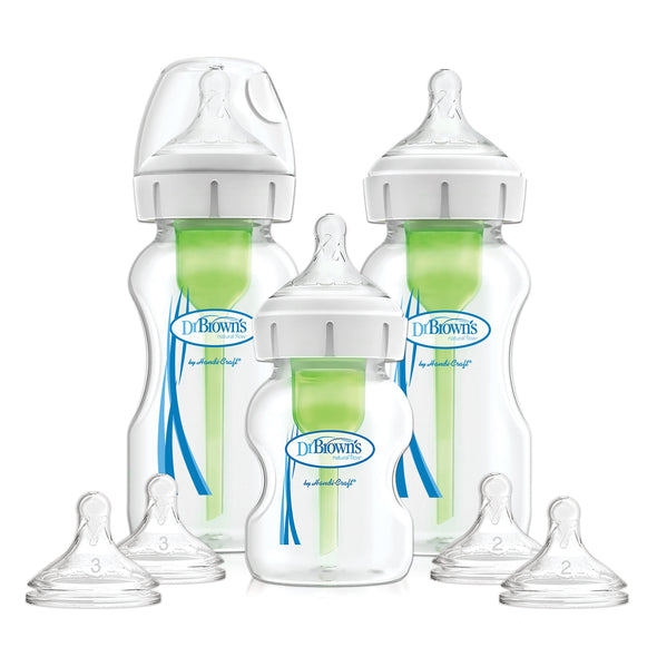Dr Brown's - Wide Neck Options+™ Bottle Starter Kit
