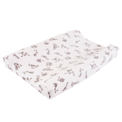 Bunny changing mat cover