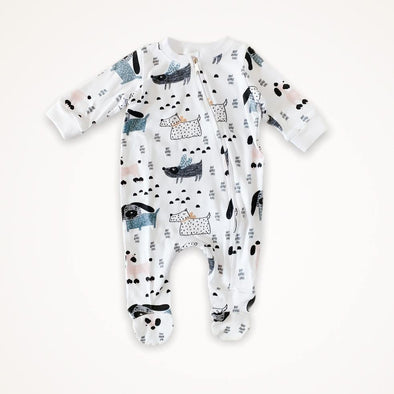 Zip Babygro - Doggy