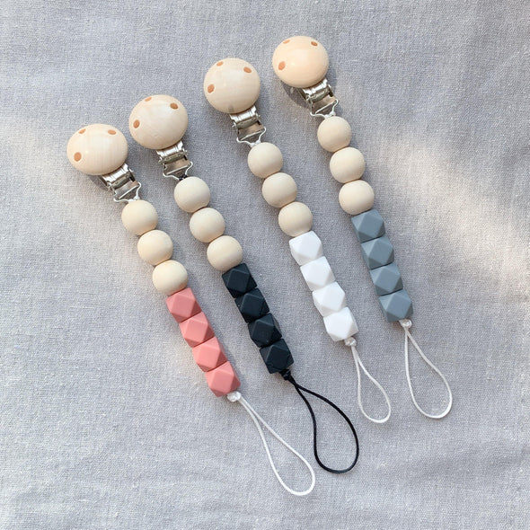 Duo Silicone Bead Dummy Clip