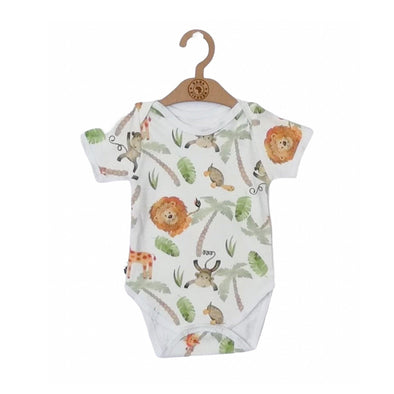Classic onesie - short sleeve - Simba Watercolour