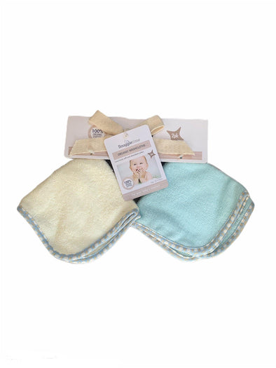 Organic Washcloths - 2 Pack