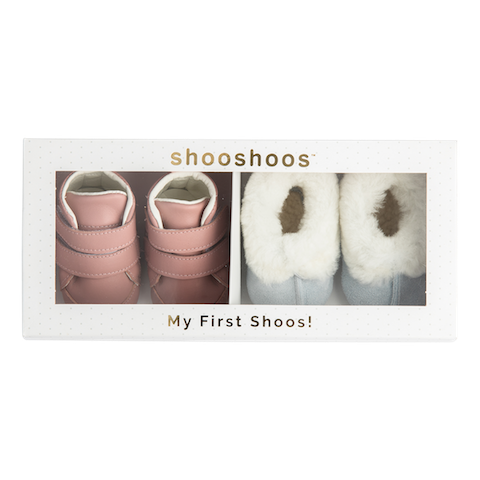 Shooshoos Inspiration newborn shoes - Girl