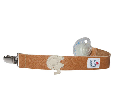 Jeankelly Leather Dummy Clip - Ellie - Lulla-Buy