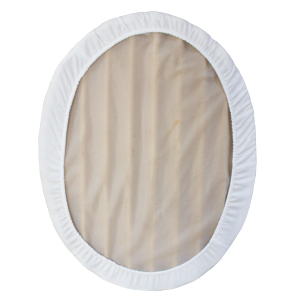 White fitted sheet for stokke mini sleepi - Oval