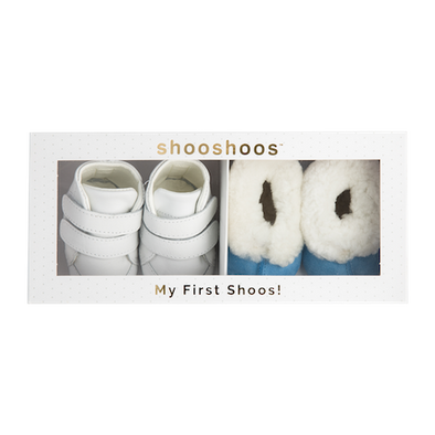 Shooshoos Wonder newborn shoes - Boy