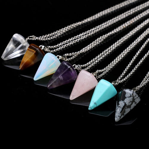 Positive Paradise Crystal Pendant Necklace