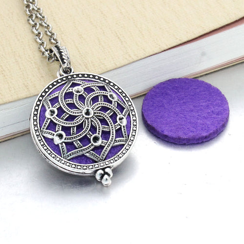 Positive Paradise Aromatherapy Locket Necklace Essential Oils Diffuser