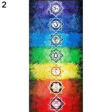 Load image into Gallery viewer, Positive Paradise Seven Chakra Yoga Mat