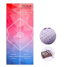 Load image into Gallery viewer, Positive Paradise Printed Yoga Mat Microfiber Non-slip
