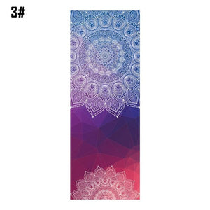 Positive Paradise Yoga Mat Diamond Texture