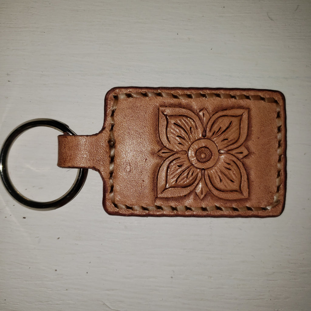 Custom Leather Keychains