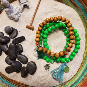 Wood stacker bracelets