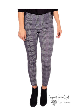 Houndstooth Pixie Pants by Paisley Raye with Beyond Beautiful by Cassie, shop now at http://beyondbeautifulbycassie.com/