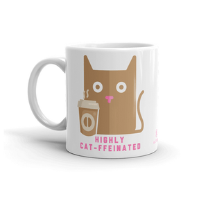Cat-feinnated mug
