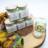 Floral Eco Friendly Gift Box For Her | Soy Wax Candle | Natural Soap | Seedballs |