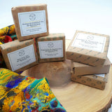Tea Lovers Eco Gift Box -Selected Tea bags - Soy Wax Candle - Palm Oil Free Soap Bar - For Any Occasion