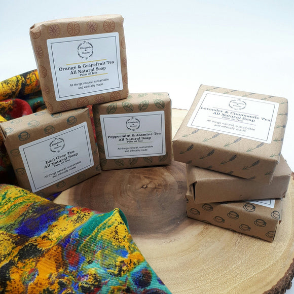 Natural Soap Bar Palm Oil-Free 1