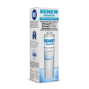1 Pack GI6FDRXXY00 Replacement Refrigerator Water and Ice Filter