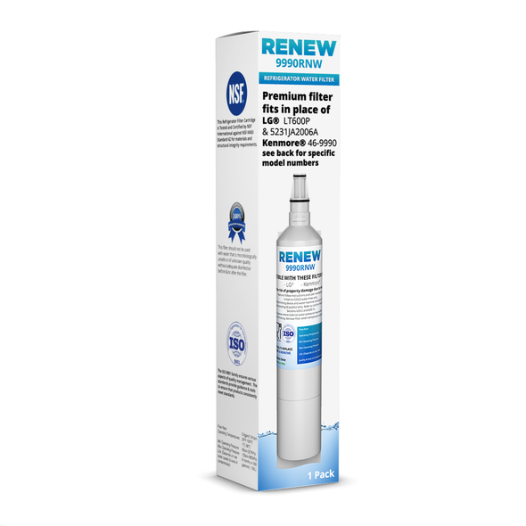 LSS25XSWASS Replacement Refrigerator Water and Ice Filter 1 Pack