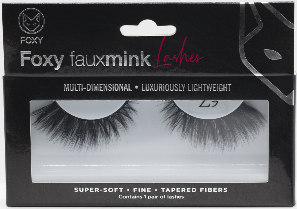 Foxy Faux Mink Lashes Model  Z9