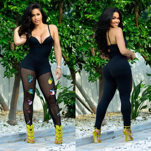 Geebin: FABIOLA PATCH LEGGINGS