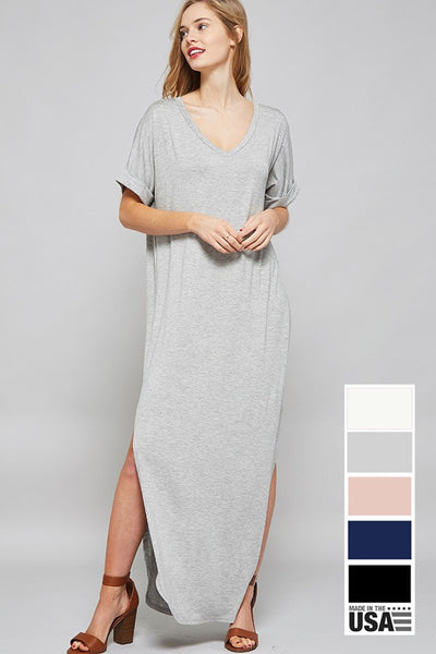 Pat Dress ( Available in Black/Pink/Gray )
