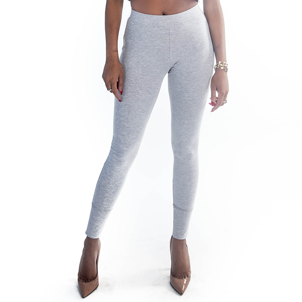 Grey Signature Leggings