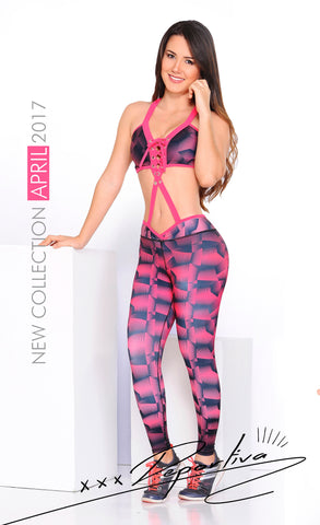 Pink Panther-Inspired Two/Three-piece Set (Pre-Order Ref #598)
