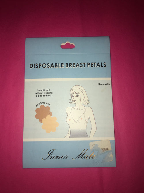 Disposable breast petals