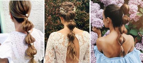 Bubble Ponytail hairstyles