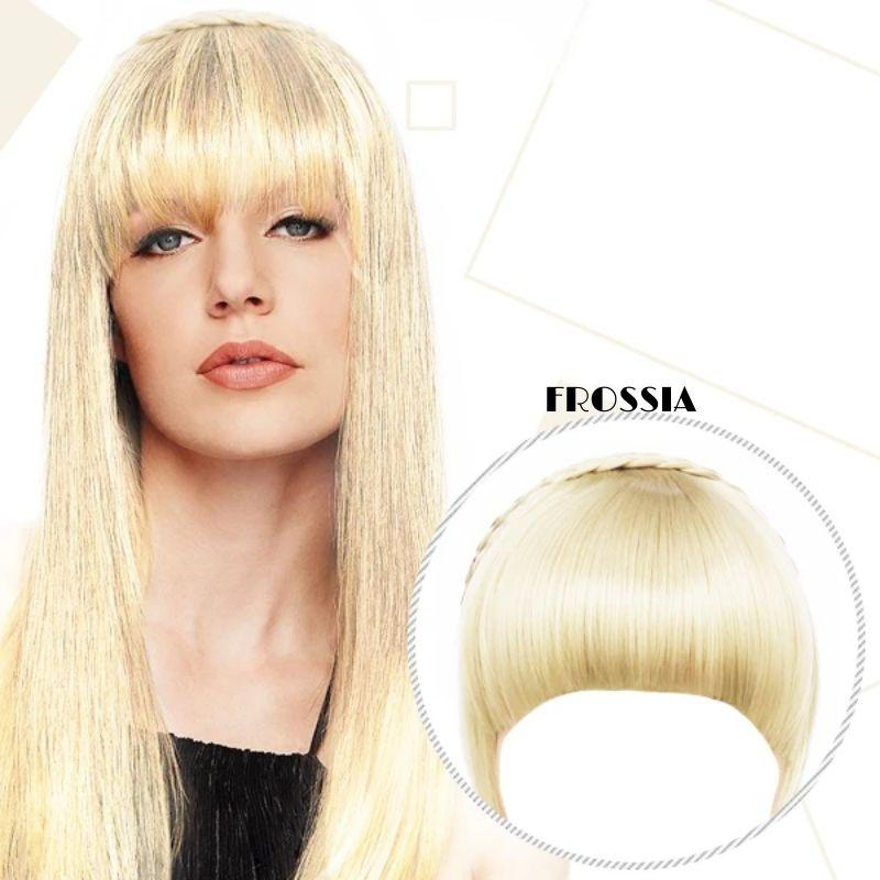 Frange Cheveux Blond Clair Frossia
