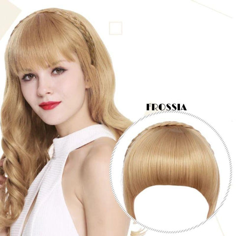 Frange Cheveux Blond Frossia