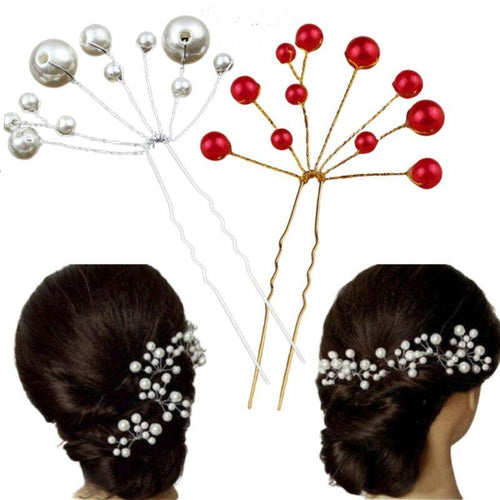 épingle a cheveux perles