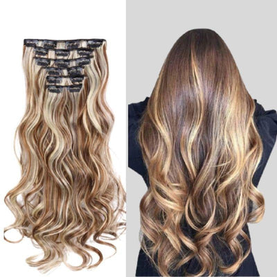 Extension cheveux boucles