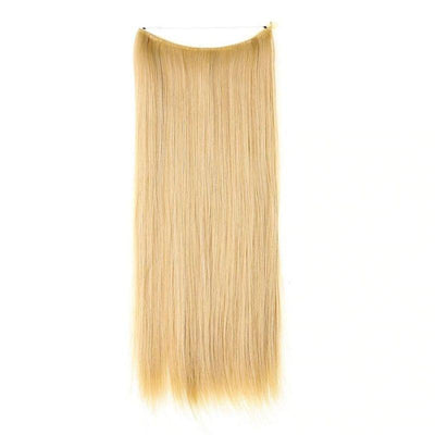 extension cheveux fil invisible blonde